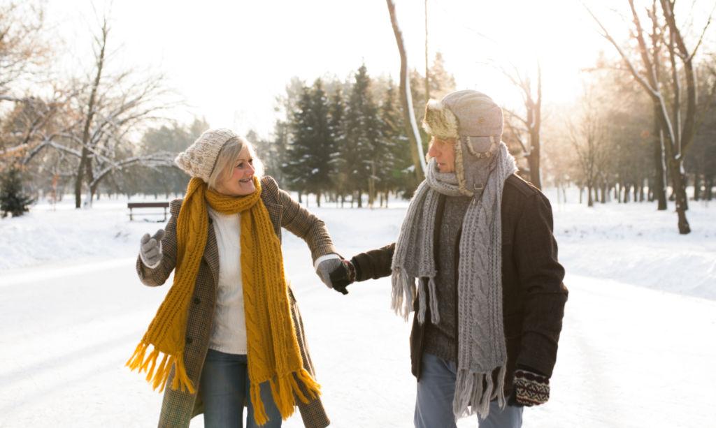 Winter und Blutdruck