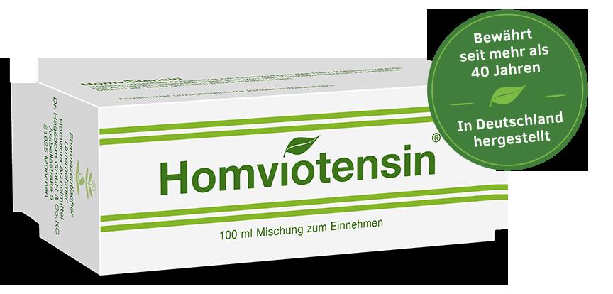 Homviotensin® Packshot