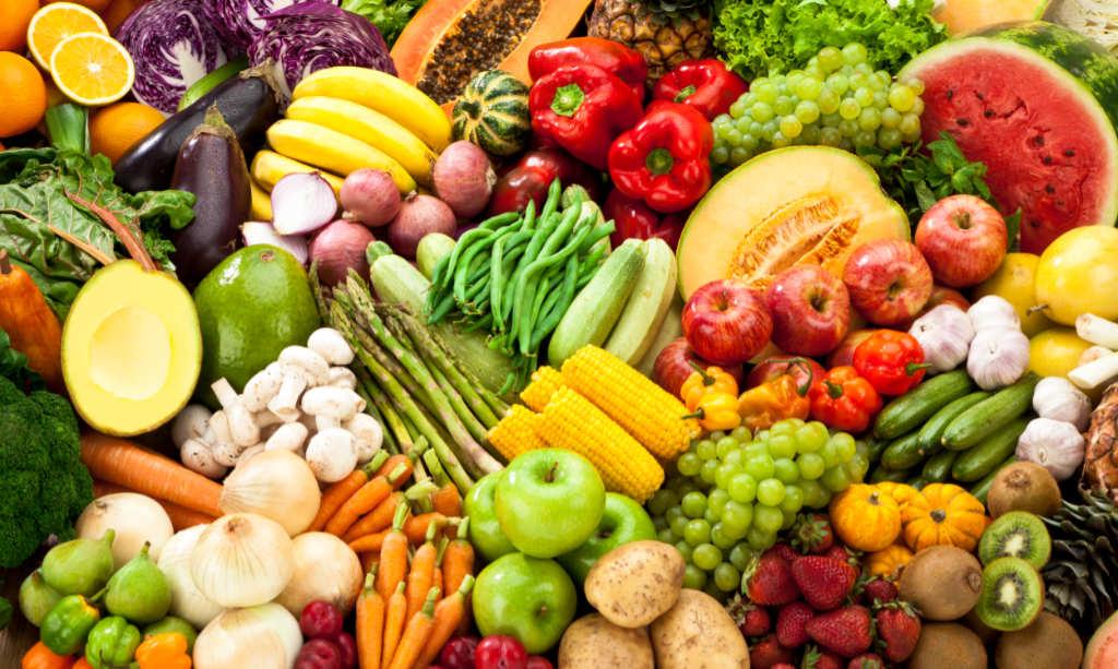 Vitamine, Gemüse und Obst